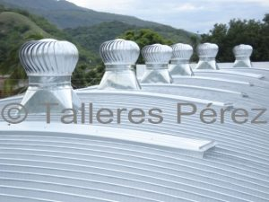 Extractores eólicos - Talleres Pérez